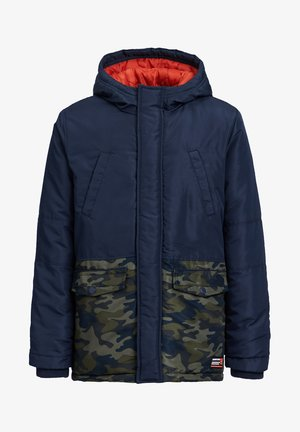MET COLOURBLOCK - Winter jacket - dark blue