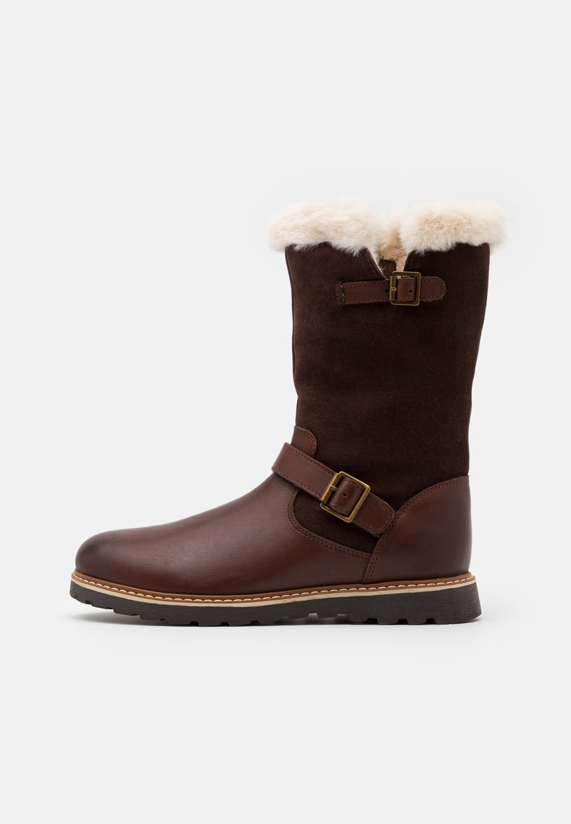 Friboo - Snowboots  - dark brown