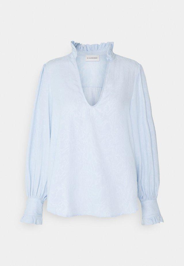 CASSINIA - T-shirt à manches longues - heather