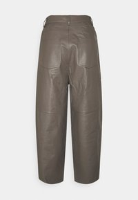 Lovechild - ASTON - Leather trousers - walnut - 1
