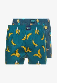 Lousy Livin Underwear - BANA-ANANAS 2PACK - Boxer shorts - ocean/blue dive - 4