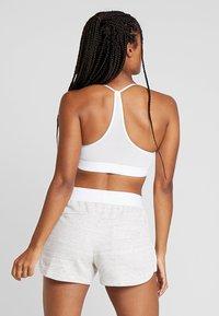 adidas Performance - CLIMACOOL WORKOUT BRA - Sports bra - white - 2