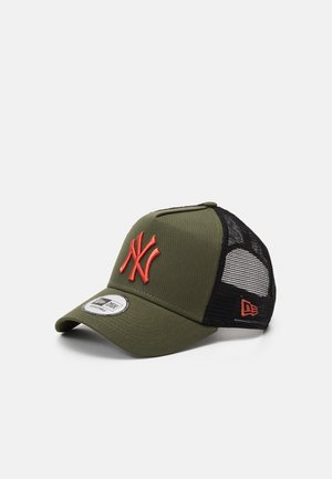 LEAGUE ESSENTIAL TRUCKER UNISEX - Cap - olive