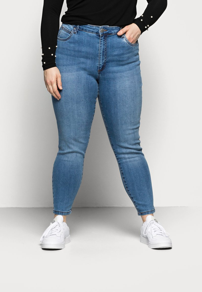 Cotton On Curve - ADRIANA - Jeans Skinny Fit - boston blue
