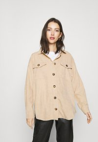 Moves - SAVISA - Button-down blouse - sahara - 0