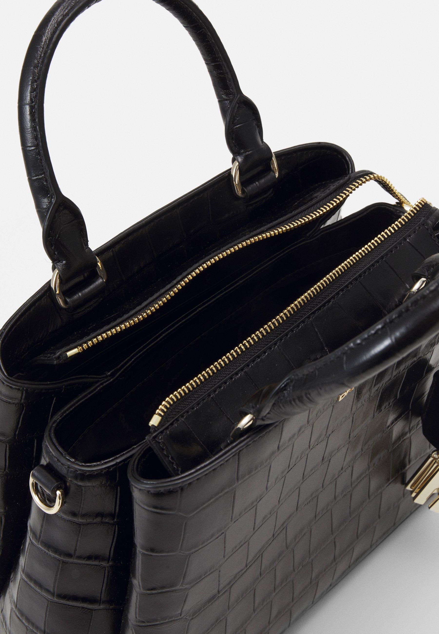 Women MED SATCHEL CROCO - Handbag