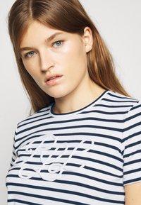 Lauren Ralph Lauren - REFINED  - Print T-shirt - white/lauren navy - 3