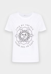 ONLY - ONLSYMBOL  - Print T-shirt - white/live by the sun - 4
