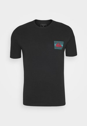 SOUND WAVES - T-shirts print - black