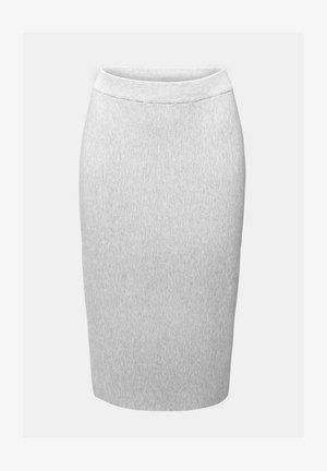 Pencil skirt - light grey