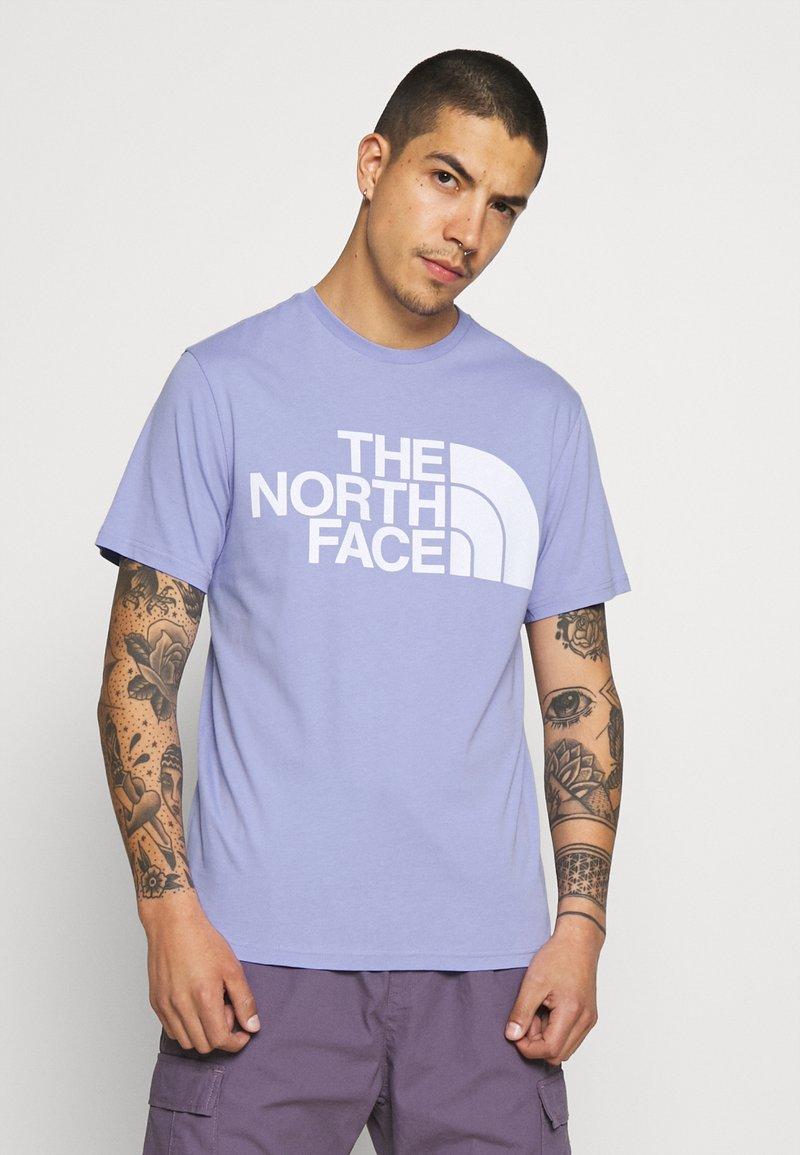 The North Face - STANDARD TEE - T-shirt imprimé - sweet lavender