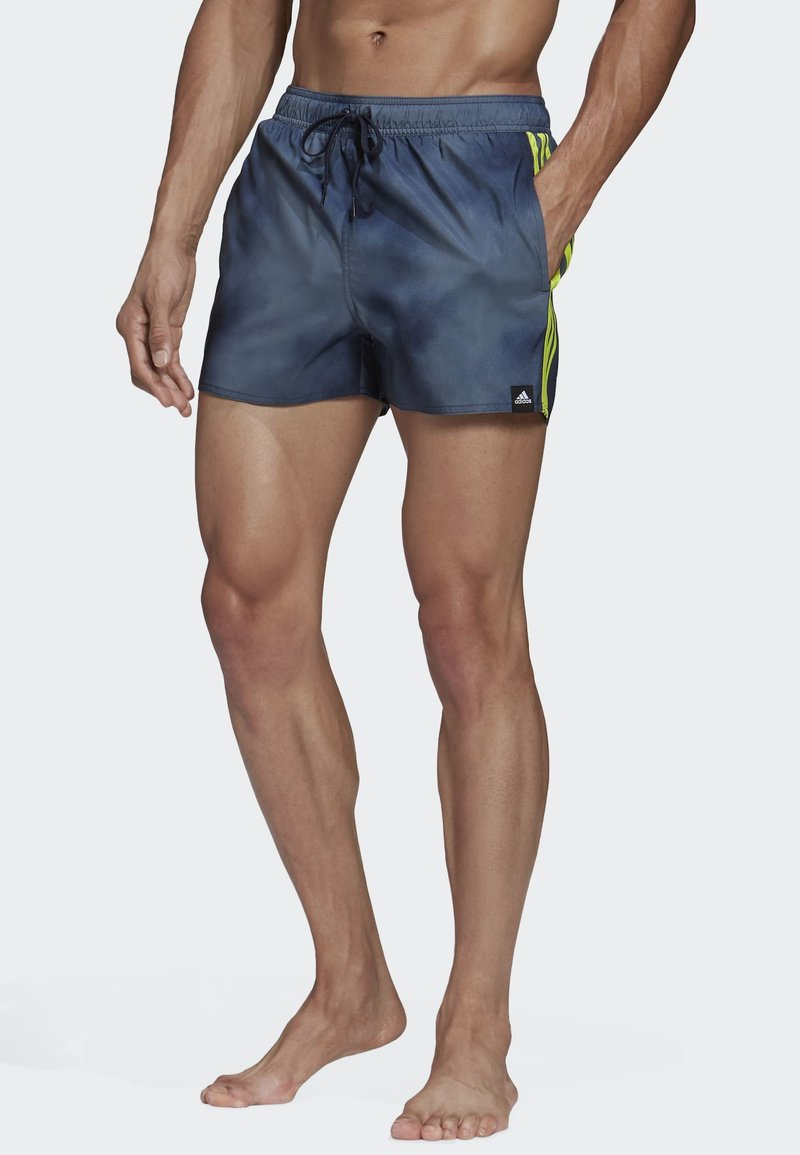 adidas Performance - 3-STRIPES FADE CLX SWIM SHORTS - Uimahousut - blue
