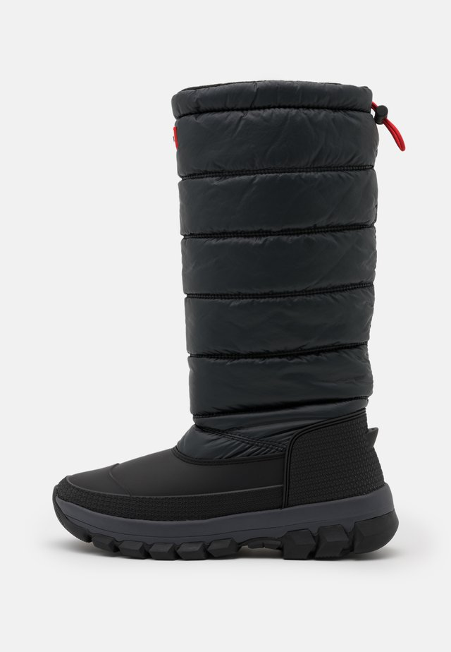 WOMENS ORIGINAL INSULATED TALL - Vinterstøvler - black