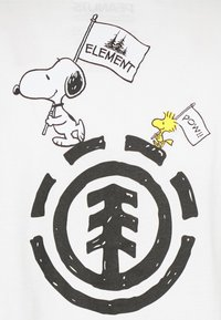 Element - PEANUTS SLIDE - T-shirt con stampa - off white - 2