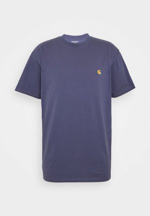 CHASE  - Basic T-shirt - cold viola/gold