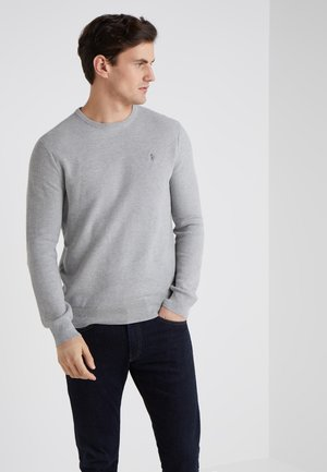 LONG SLEEVE - Stickad tröja - andover heather