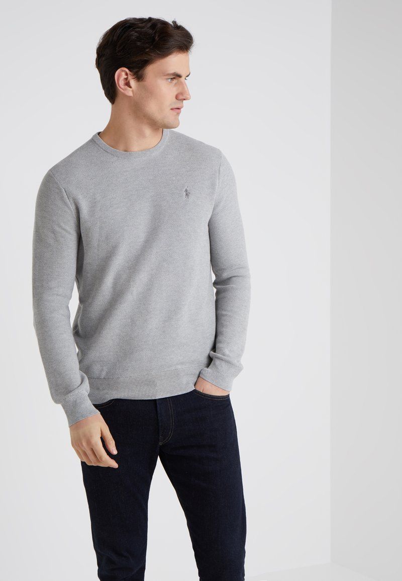 Polo Ralph Lauren - LONG SLEEVE - Neule - andover heather