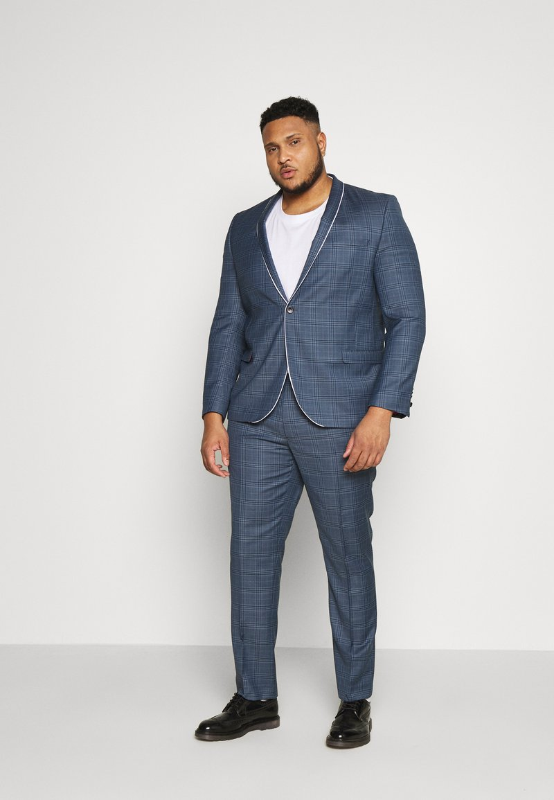Twisted Tailor - SOTHERBY SUIT PLUS - Completo - blue