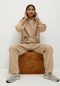 Mango - TAMMY - Trousers - beige - 5