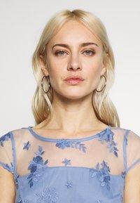 Esprit Collection - DEGRADÉ FLORAL - Cocktailkleid/festliches Kleid - blue lavender - 3