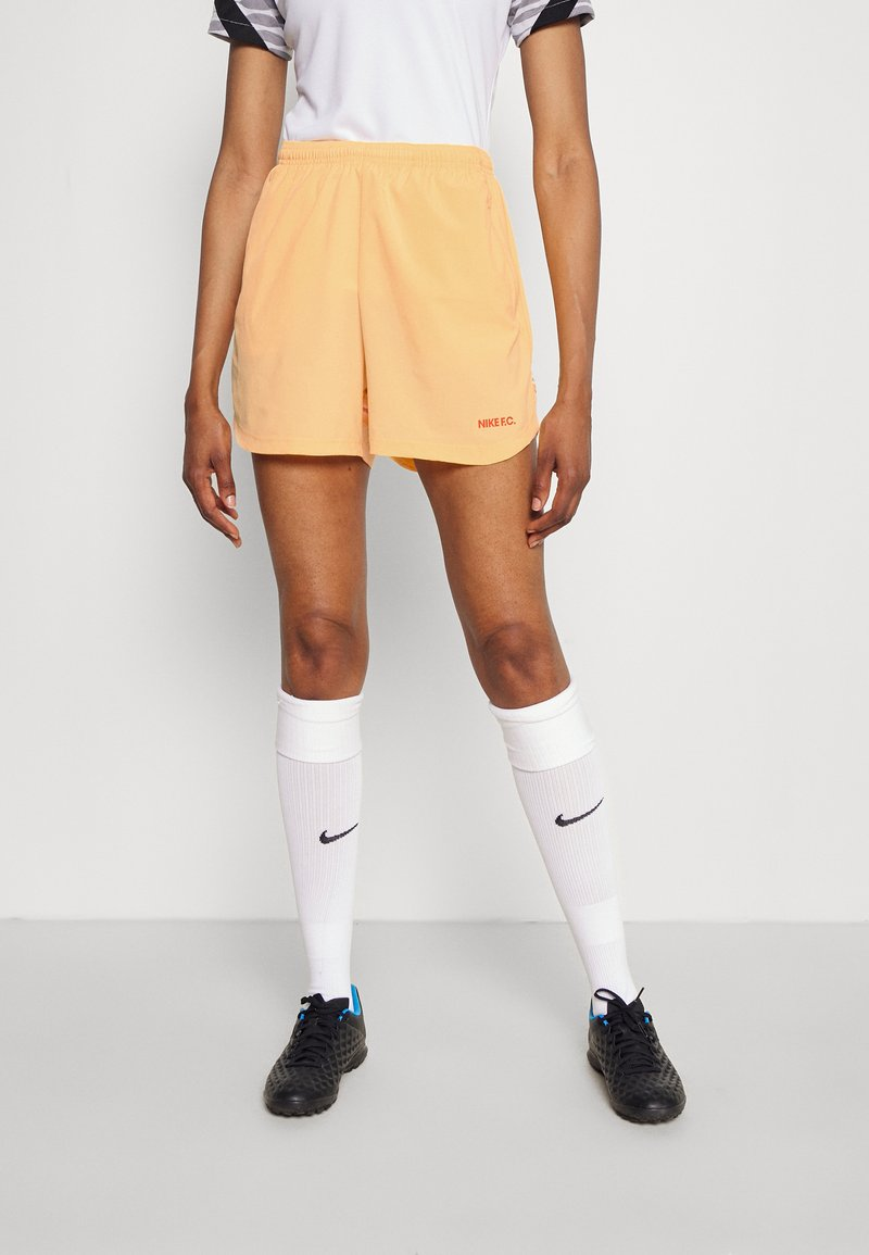 Nike Performance - FC SHORT - Short de sport - melon tint/white/habanero red