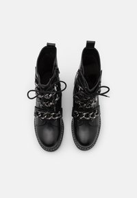 Kurt Geiger London - STORM - Lace-up ankle boots - black - 4