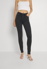 Lee - SCARLETT HIGH - Jeans Skinny - black ellis - 0