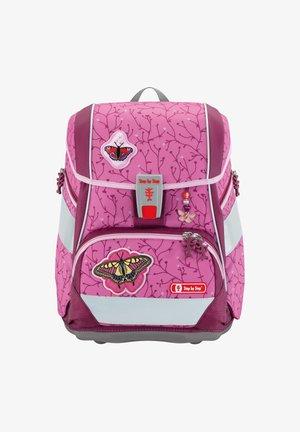2IN1 SET - Schooltas set - natural butterfly