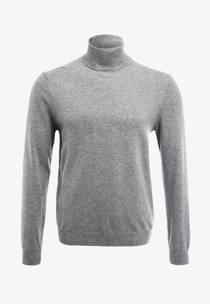 BASIC ROLL NECK - Jumper - grau