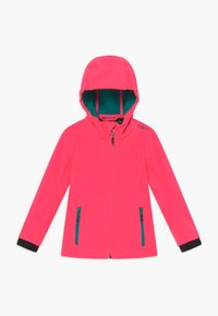 CMP - GIRL FIX HOOD - Softshellová bunda - gloss - 0