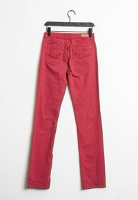 Opus - Straight leg jeans - red - 1