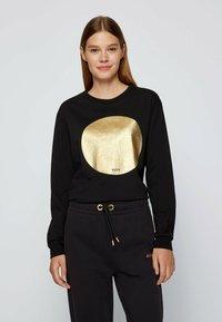BOSS - C_ELSA - Long sleeved top - black - 1