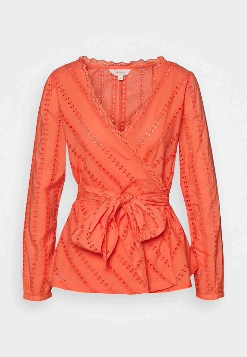Marks & Spencer London - BROD WRAP  - Bluser - orange