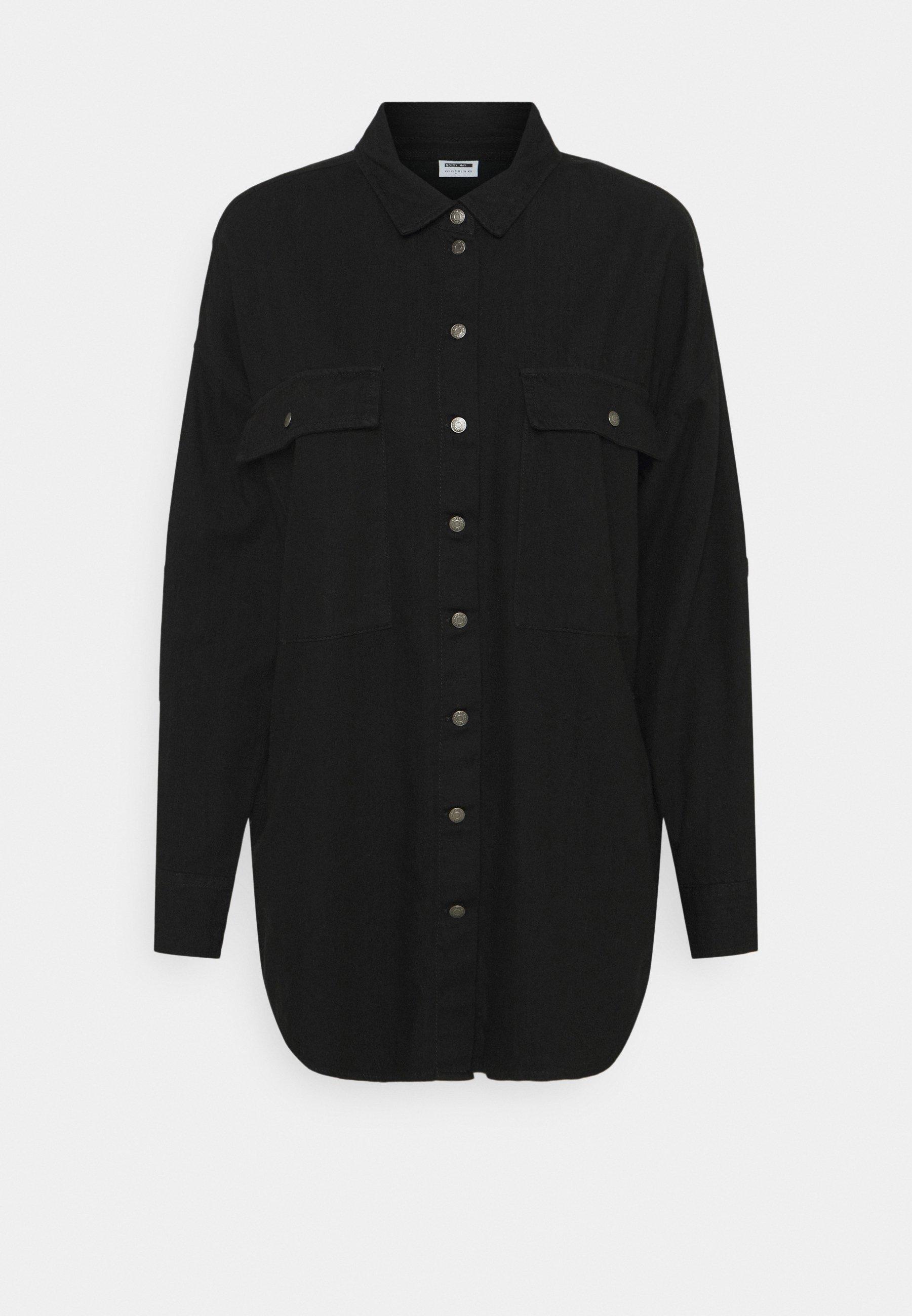 Donna NMFLANNY LONG SHACKET - Camicia