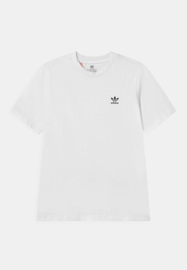 TEE UNISEX - T-shirt basic - white/black