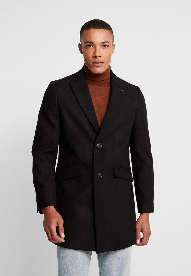 FAUX - Cappotto classico - black