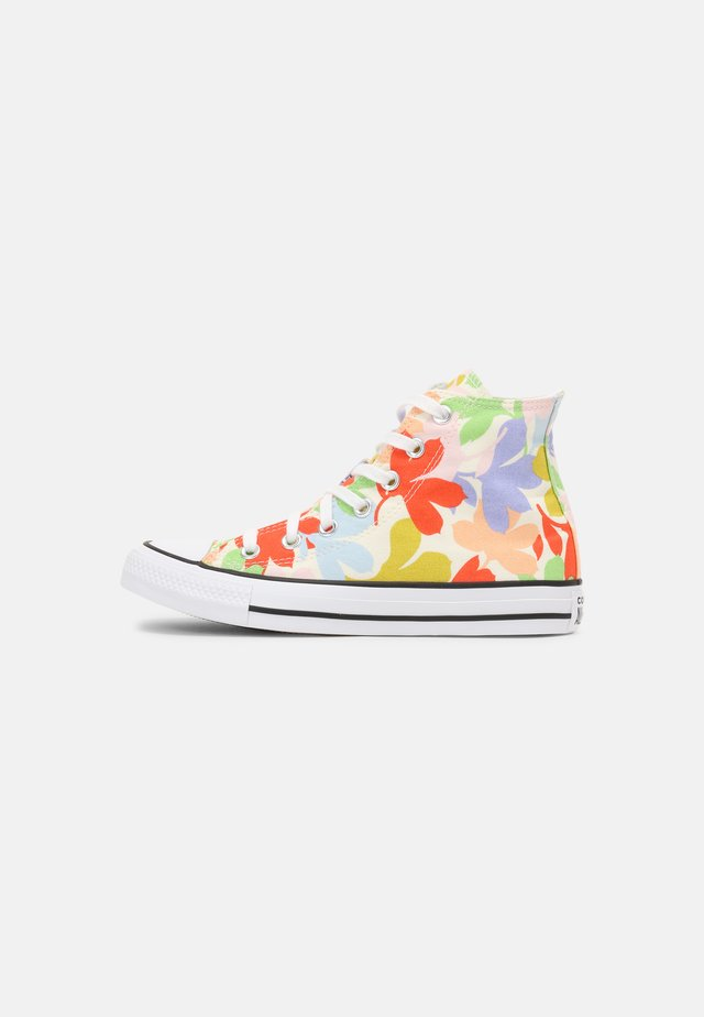 CHUCK TAYLOR ALL STAR GARDEN PARTY - Sneakers hoog - egret/black/white