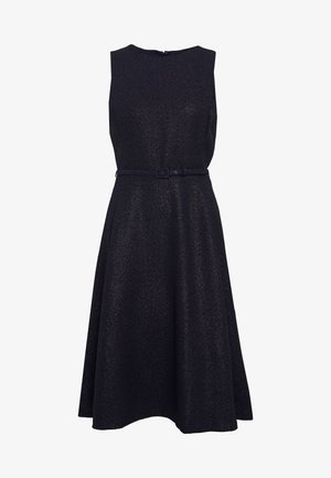 WOODSTCK FOIL DRESS - Kjole - navy/silver