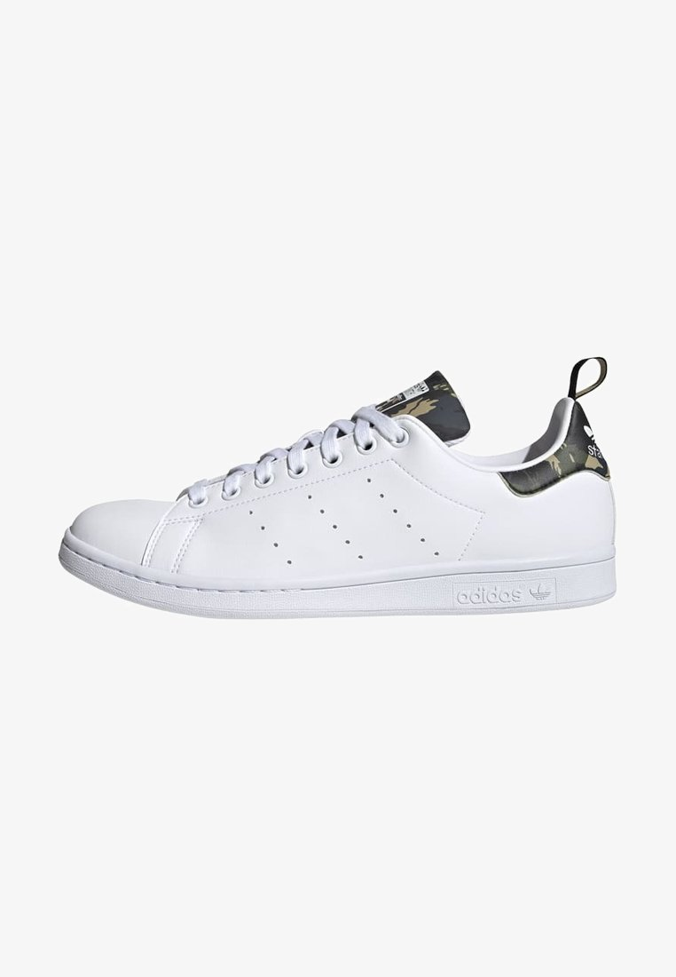 adidas Originals - STAN SMITH PRIMEGREEN ORIGINALS SHOES - Trainers - ftwr white/ftwr white/core black