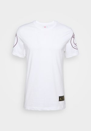 PARIS ST GERMAIN LOGO TEE - Squadra - white