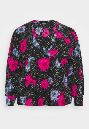 SMOCK BATWING SLEEVE  - Blouse - lilac floral