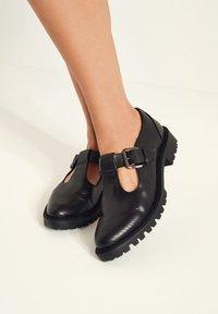 Next - Šněrovací boty - black - 0