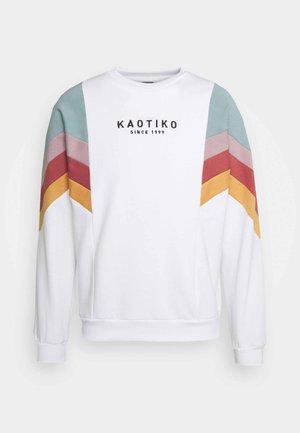 CREW SEATTLE - Sweatshirt - blanco