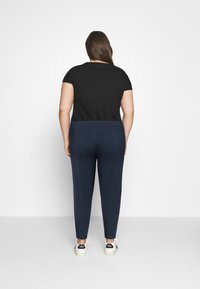 Dorothy Perkins Curve - Tracksuit bottoms - navy - 2