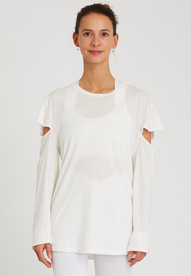 Yogasearcher - SATTVA - Longsleeve - white