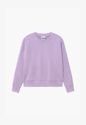 OUR LONE CREW - Sweatshirt - light purple