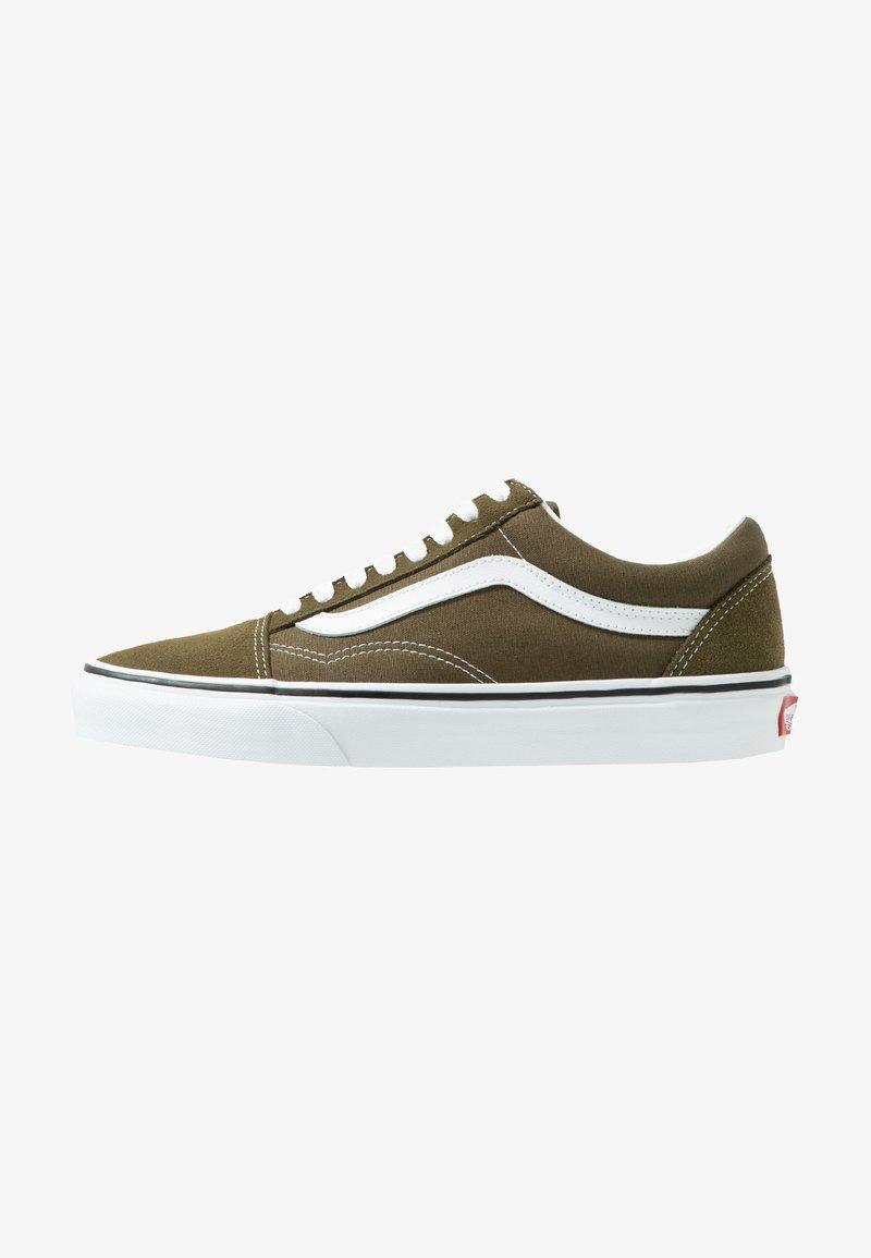 Vans - OLD SKOOL - Sneakersy niskie - beech/true white