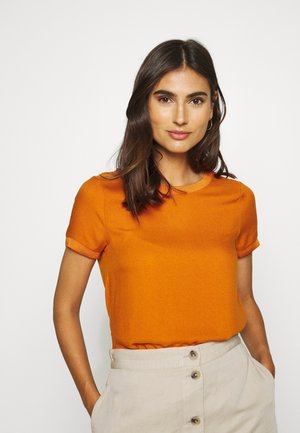 Bluser - sunset orange
