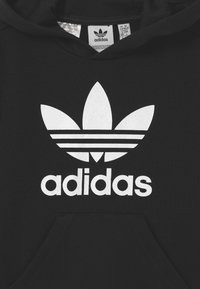 adidas Originals - HOODIE SET UNISEX - Trainingspak - black/white - 3