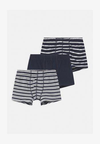 NKMTIGHTS 3 PACK - Pants - dark sapphire